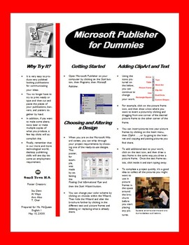 Microsoft Publisher for Dummies