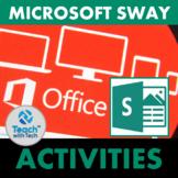 Microsoft SWAY Presentations Lesson & Activities