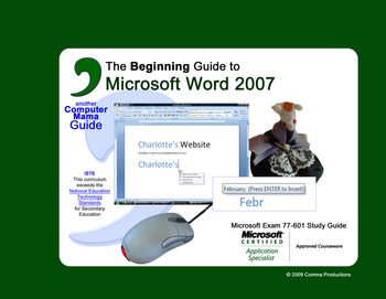 Microsoft Word 2007 Beginning -SAMPLE FILES