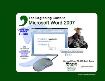 Microsoft Word 2007 Beginning -SAMPLE FILES