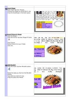 Microsoft Word 2007 Newspaper Project Directions Tutorial