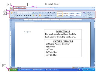 Microsoft Word 2007 Test