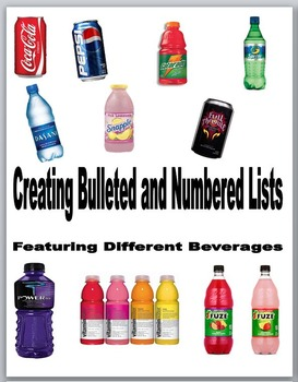 Microsoft Word 2010 Activity- Creating Bulleted and Numbered Lists