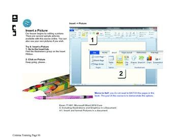 Microsoft Word 2010 Beginning: Fancy Colors