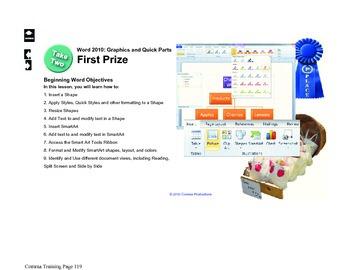 Microsoft Word 2010 Beginning: First Prize