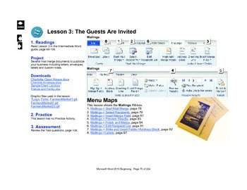 Microsoft Word 2010 Intermediate: The Guests Are Invited
