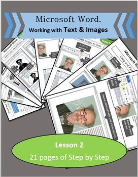 Microsoft Word 2010 - Lesson 2 (Practice typing, Working w/ Text and Image)
