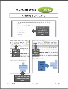 Microsoft Word 2010- Lesson 4 (Creating a Report)