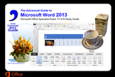 Microsoft Word 2013 Advanced: Sample Files