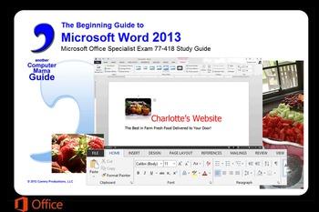 Microsoft Word 2013 Beginning: Sample Files