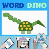 Microsoft Word using Shapes to Make a Dinosaur