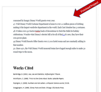 Microsoft Word Skills - Bibliography and Citations Lesson
