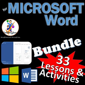 Microsoft Word 2013 Skills Bundle - 30 Lessons