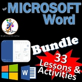 33 Lessons for Microsoft Word Skills Bundle