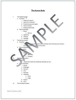 Microsoft Word Skills - Outline Lesson