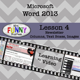 Microsoft Word 2013 Video Tutorial - Lesson 4