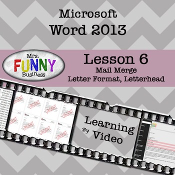 Microsoft Word 2013 Video Tutorial - Lesson 6