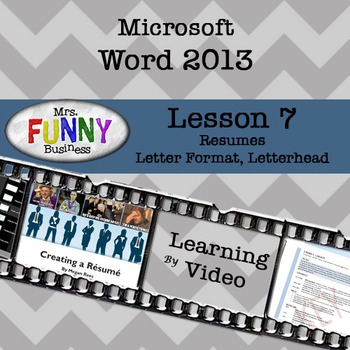 Microsoft Word 2013 Video Tutorial - Lesson 7