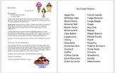 Microsoft Word 2016 Activity- Creating Columns in Word (Ice Cream Flavors)