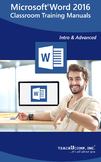 Microsoft Word 2016 Classroom Training Curriculum