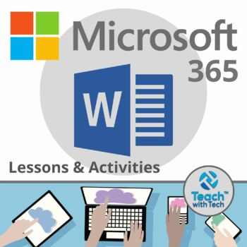 Microsoft Word Office 365 Lesson & Activities UPDATED 2018