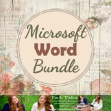 MICROSOFT WORD BUNDLE (Save 50%)- Assignments, Projects, Quizzes, & Tests