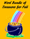 Microsoft Word Bundle of Treasures for Fall! – 3 Units