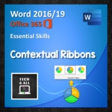 Contextual Ribbons in Microsoft Word