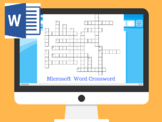 Microsoft Word Crossword Puzzle