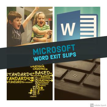 Microsoft Word Exit Slips