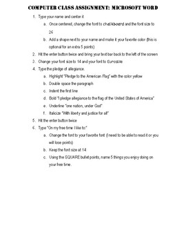 Microsoft Word Introduction