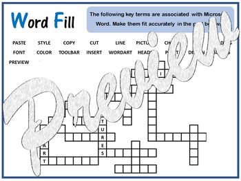 Microsoft Word - Keywords Puzzle