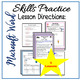 Microsoft Word Lessons - Skills Practice for Grades 4-6