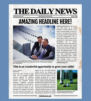 4 page newspaper template microsoft word inch by for Microsoft kb article template