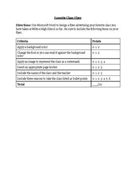 Microsoft Word - Page Layout
