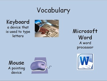 Microsoft Word Power Point Lesson