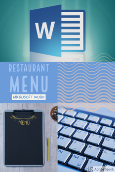 Microsoft Word Restaurant Menu Project