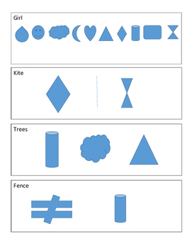 Microsoft Word Shapes Art Poster Project Directions Samples Rubric Lesson Plan