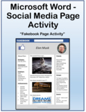 Social Media Page Activity for Teaching Microsoft Word Skills