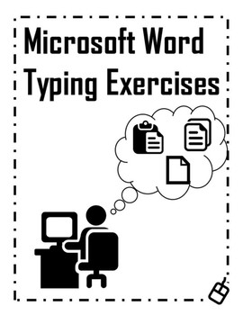 Microsoft Word Typing Exercises
