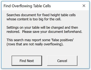 Microsoft Word Utilities for Windows