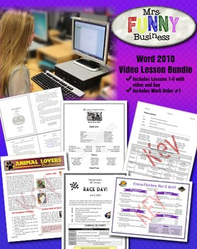 Microsoft Word 2010 Video Tutorial Bundle - Lessons 1-5