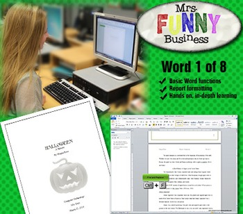 Microsoft Word 2010 Video Tutorial Lesson 1 of 8 - Reports