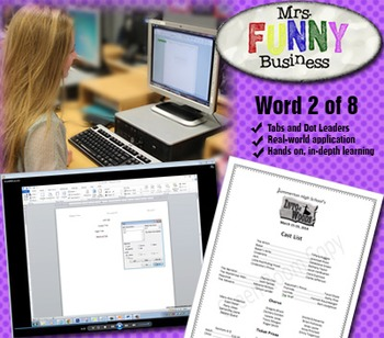 Microsoft Word 2010 Video Tutorial Lesson 2 of 8 - Tabs