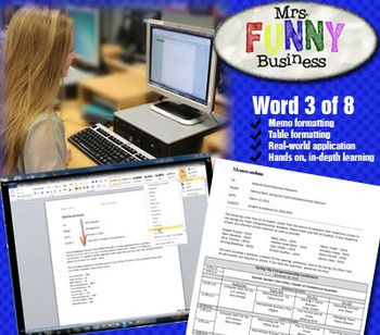 Microsoft Word 2010 Video Tutorial Lesson 3 of 8 - Memos