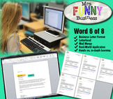 Microsoft Word 2010 Video Tutorial Lesson 6 of 8 - Busines