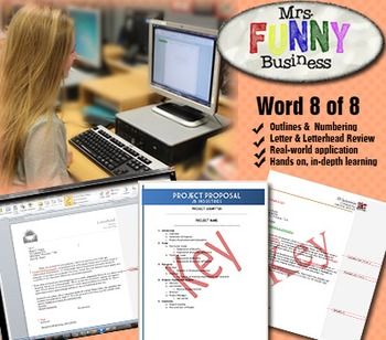 Microsoft Word 2010 Video Tutorial Lesson 8 of 8 - Outlines
