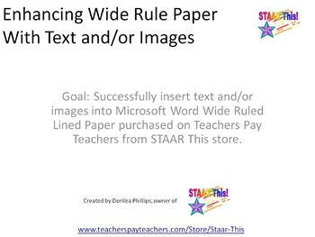 lined paper microsoft word