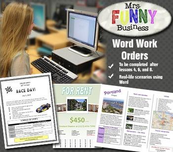 Microsoft Word 2010 Work Orders