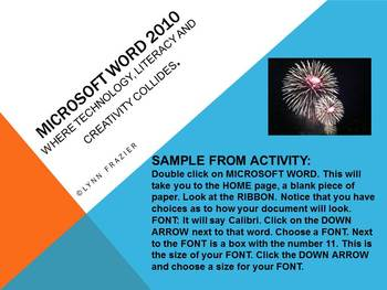 Microsoft Word for Middle and High School